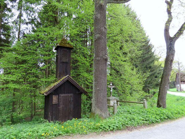 zvonička v rakouském Josefsthalu