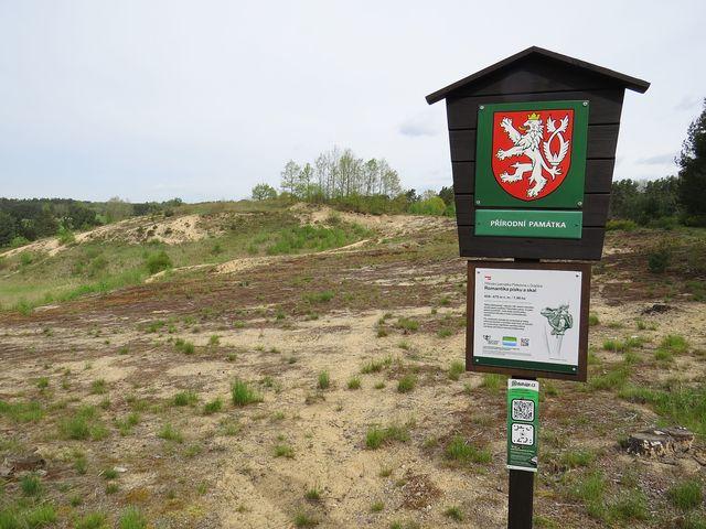 pískovna u Dračice poblíž Františkova