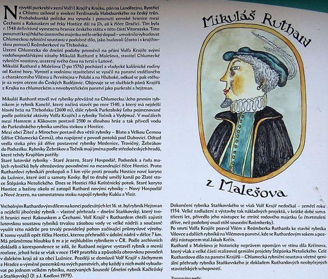 o slavném rybníkáři Ruthardovi