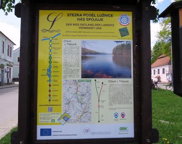 informace o Stezce podél Lužnice