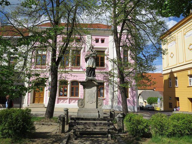 socha sv. Jana Nepomuckého ve Stráži nad Nežárkou