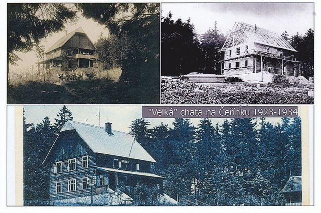 stavba a konečná podoba původní chaty