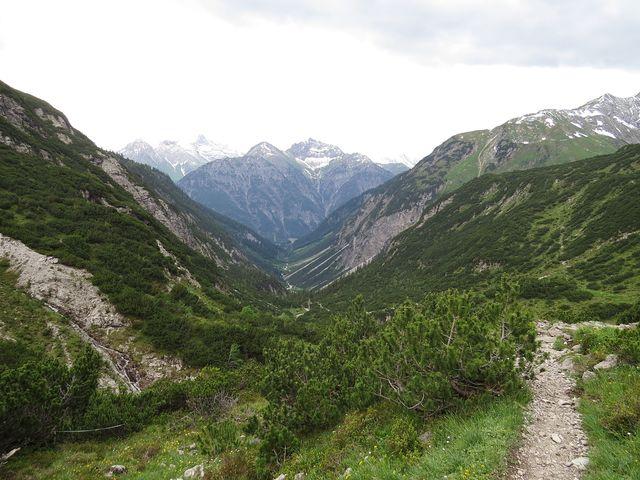 Höhenbachtal - vracíme se do údolí Lechtal
