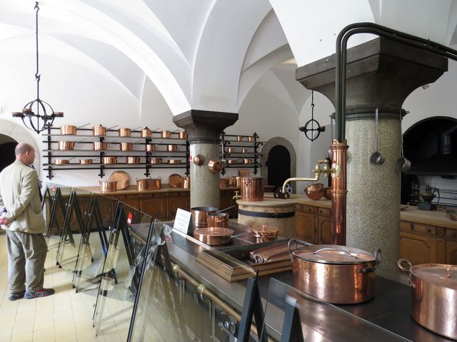kuchyně zámku