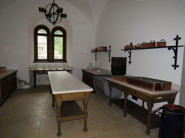 kuchyňské zařízení bylo ve své době velice moderní