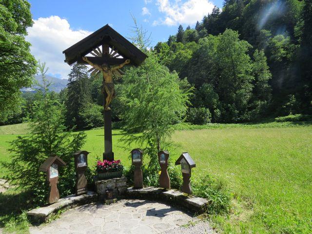 památníčky obětem řeky Partnach - při plavení dřeva docházelo ke smrtelným úrazům