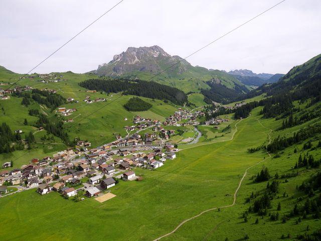 obec Lech z lanovky