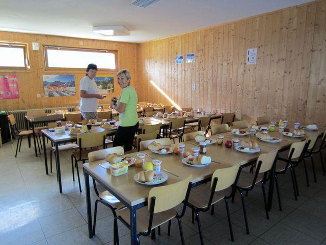 jídelna v domě cestovky JEKA; foto L. Bohatá