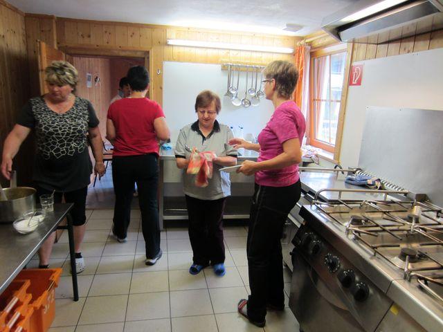 kuchyně byla samozřejmě ústředním bodem budovy; foto L. Bohatá