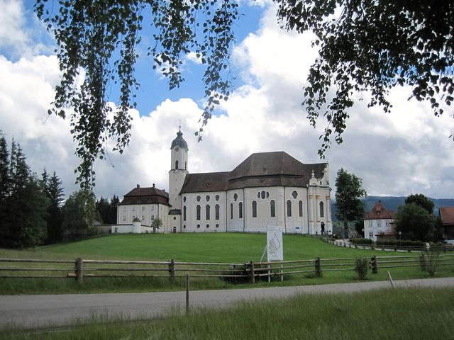 Wieskirche u Steingadenu