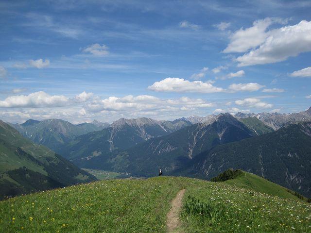 výhled do Lechtalského údolí