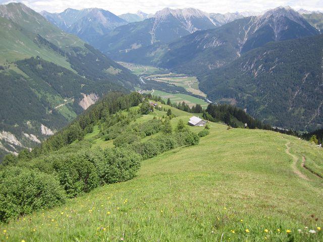 sestup k Bernhardseck Hütte (1 812 m)