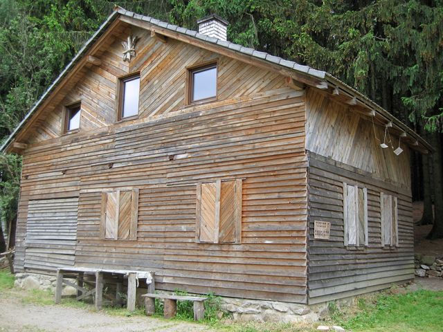 skautská chata u Dolního Ochoza