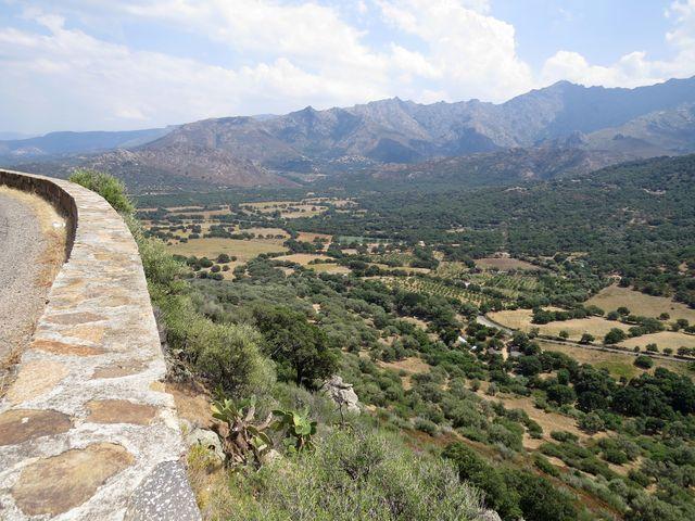 sever Korsiky je řídce osídlený