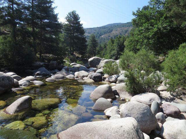 nejvýznamnější korsická řeka pramení v horách