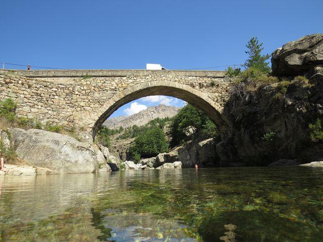 řeka Golo je pro Korsičany téměř posvátná