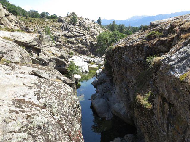 kaňon řeky Golo