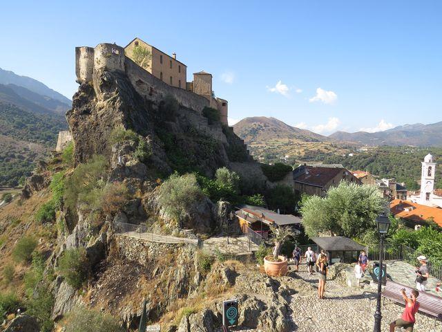 Corte je jediné univerzitní město na Korsice