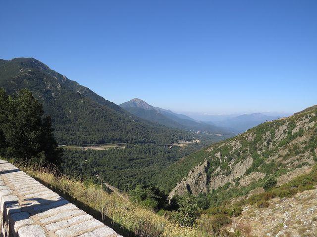 oblast kolem sedla Vizzavona bývala na začátku 20. století oblíbenou turistickou lokalitou Francouzů a Angličanů