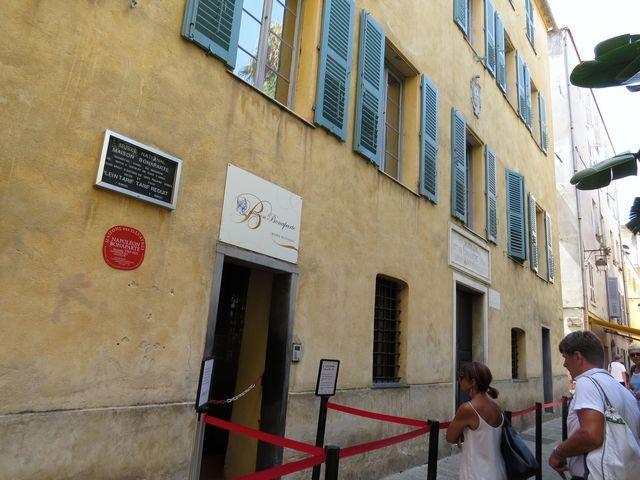 rodný dům Napoleonův v Ajacciu