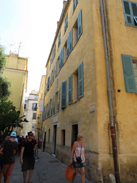 dům významné korsické rodiny Buonaparte