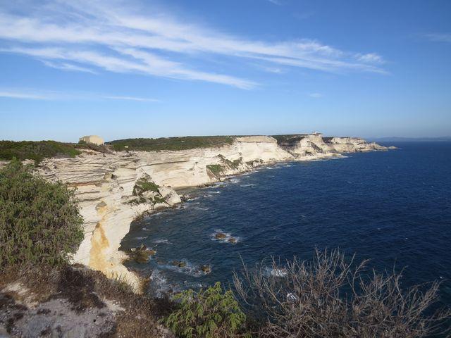 nejjižnější část ostrova Korsiky - mys Pertusato