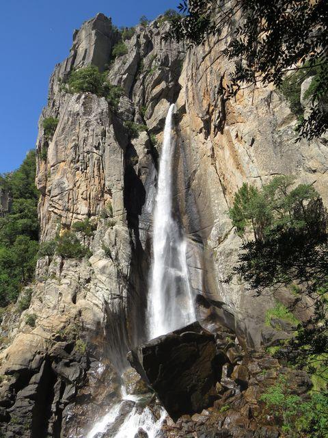vodopád Piscia di Gallo