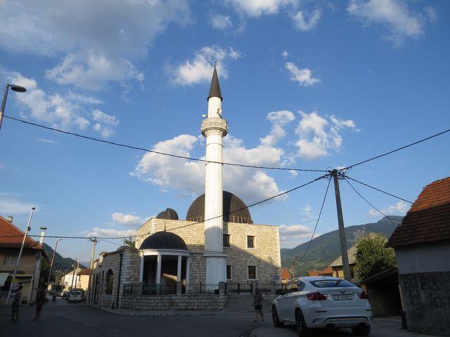 Nová Radončičova mešita v Gusinje
