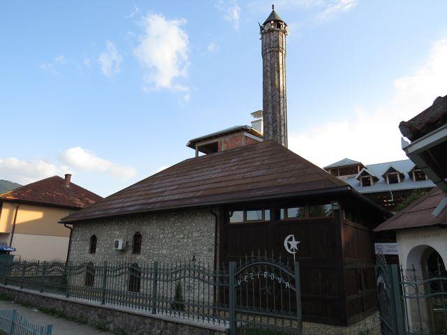 Vezírova mešita z poloviny 18. století