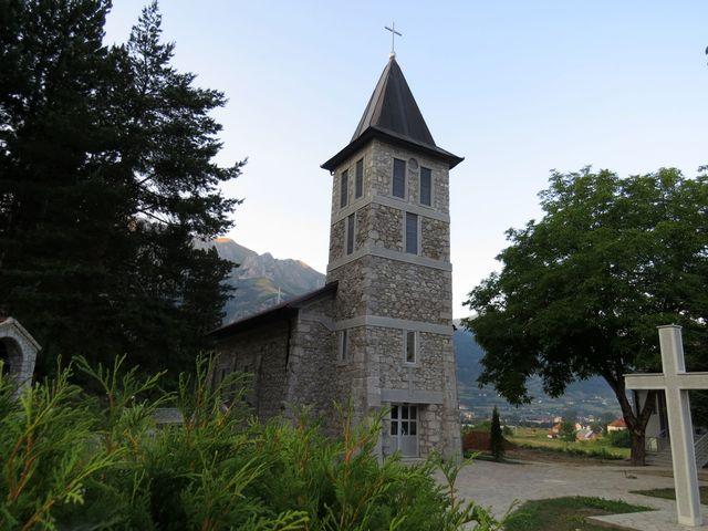 kostel sv. Antonína v Gusinje
