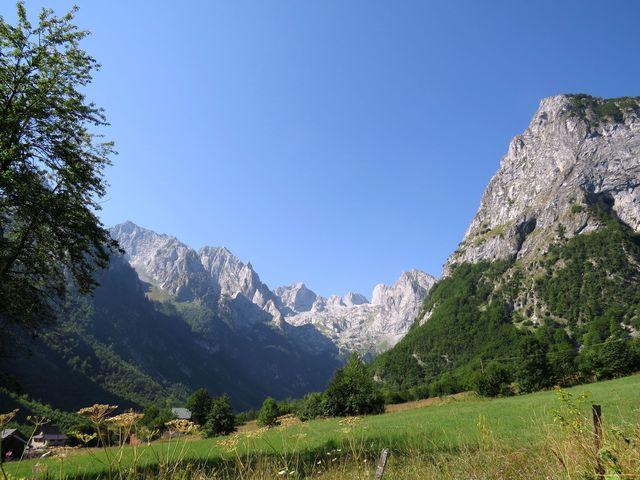 údolí Grbaje