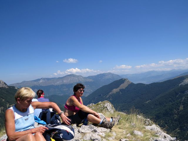 výhled z Volušnice, 1 876 m