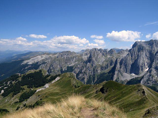 výhled z Taljanky, 2 056 m