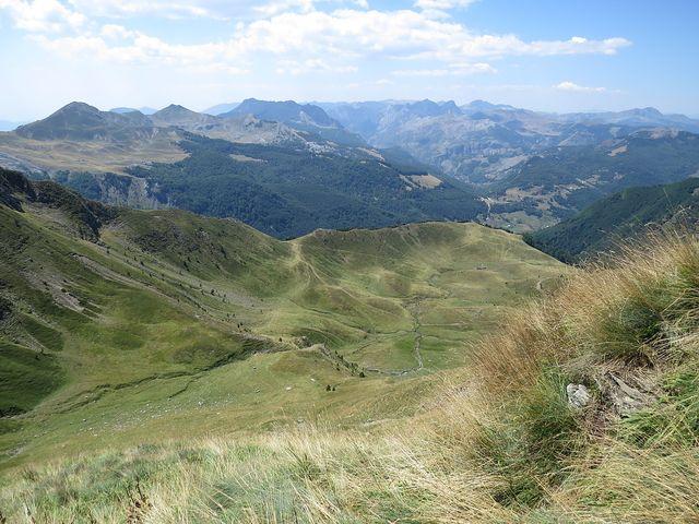 tato část pohoří je na albánské straně