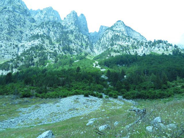 v těchto horách nepotkáte mnoho lidí