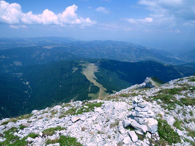 Štavna z vrcholu Komovi
