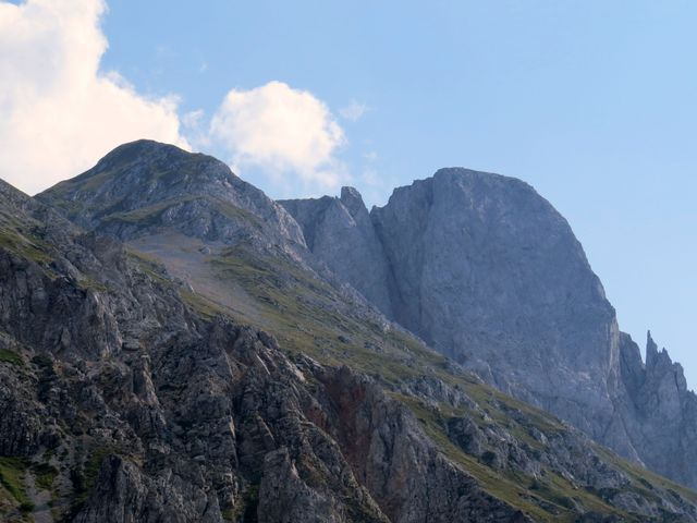 kolmá stěna Kom Vasojevički