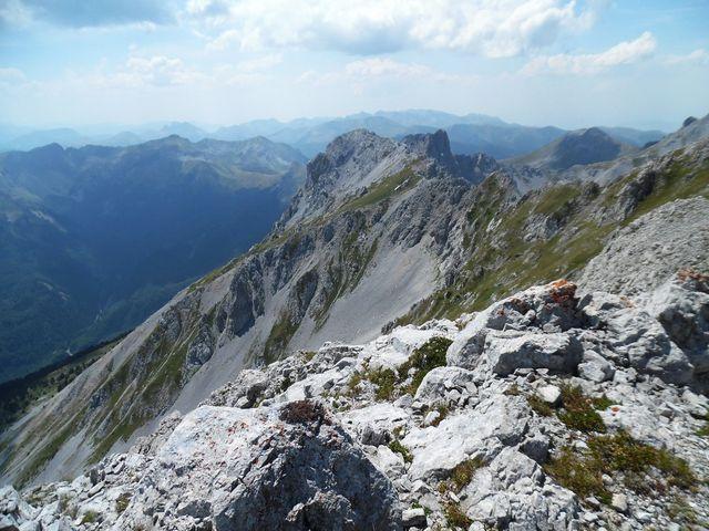 srázy pohoří Komovi - foto L. Tomáš