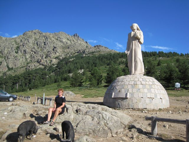 v sedle Col de Vergio - 1 477 m
