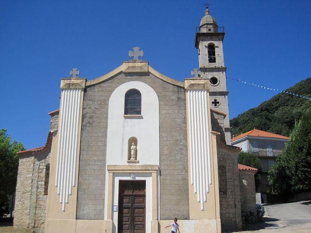 kostel v Levie