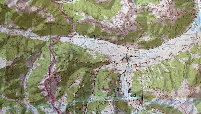 údolím Vermosh a Grnčar vedly karavanní a obchodní stezky