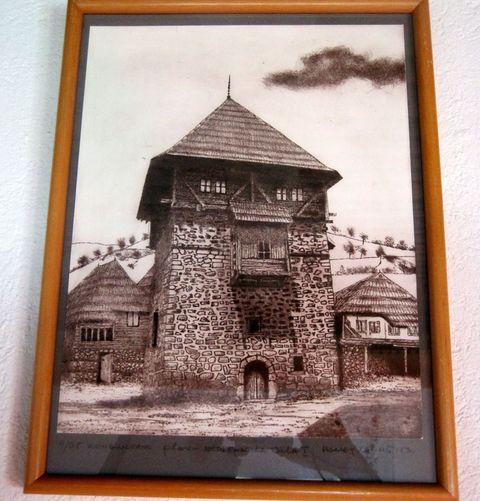 historický obrázek Kuly z Plavu