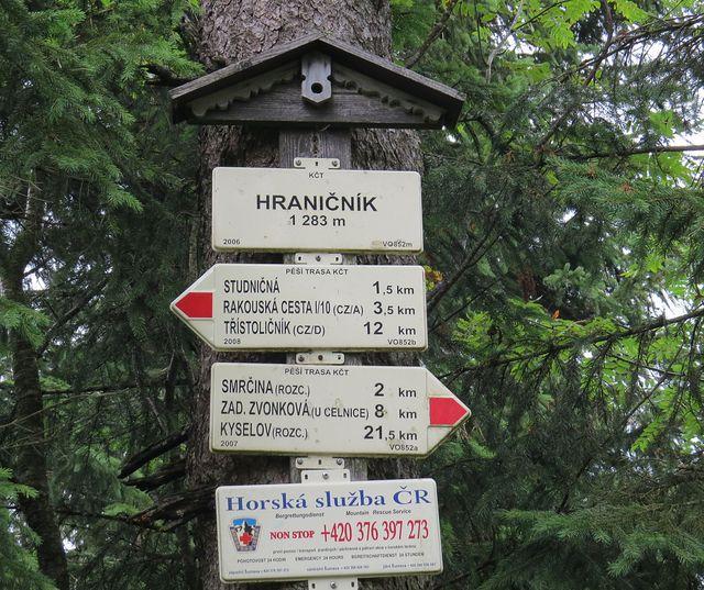 Hraničník, 1 283 m