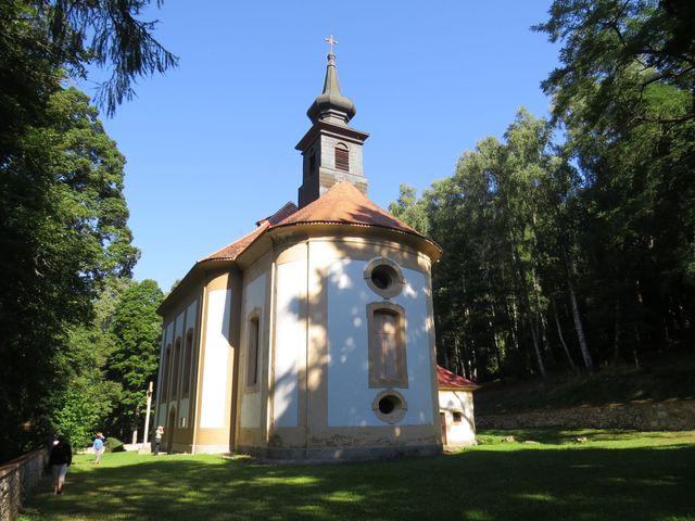 poutní kaple Bolestné Panny Marie na Dobré Vodě u Horní Plané