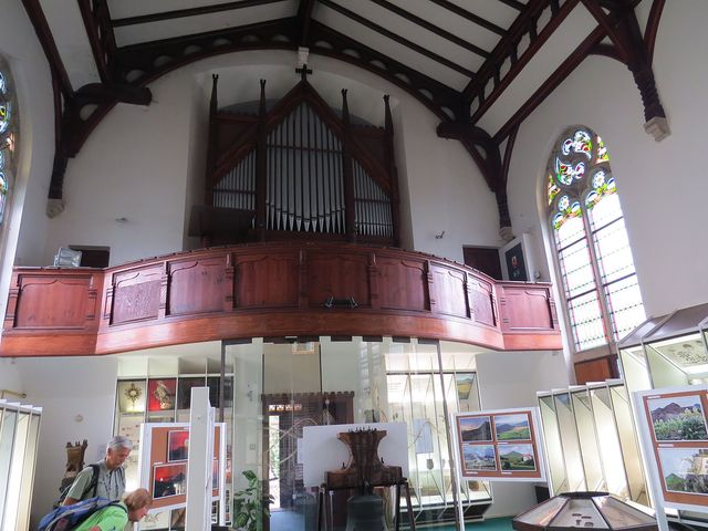 stálá expozice v bývalém evangelickém kostele