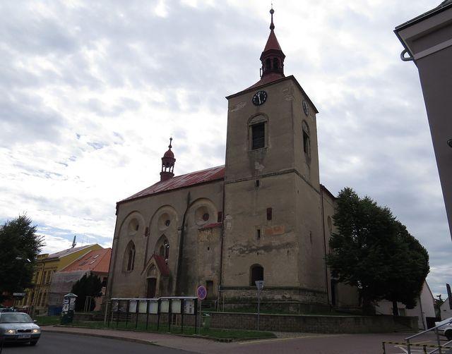 farní kostel Narození Panny Marie v Třebenicích