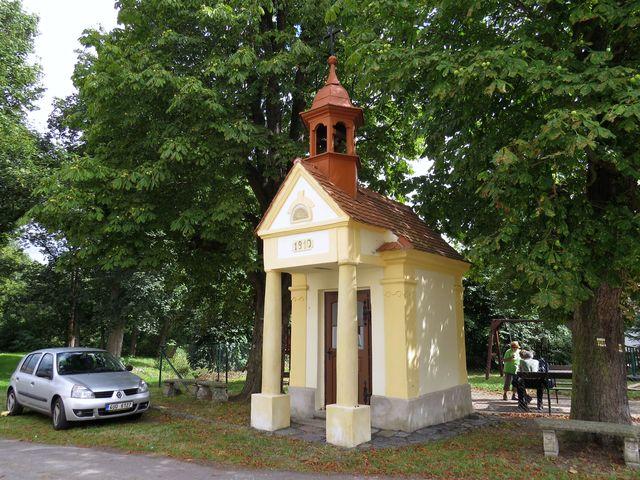 kaplička v osadě Boreč