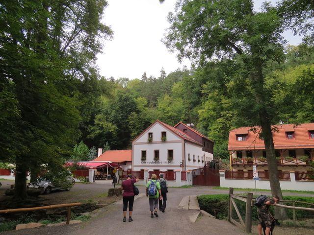 Černodolský mlýn v Opárenském údolí