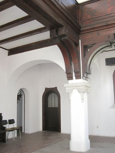 interiér Lutherova kostela