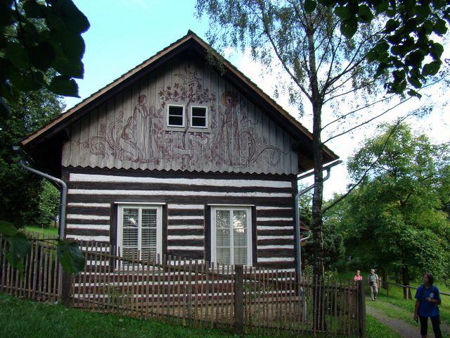 Chaloupka M. Švabinského v Kozlově u České Třebové
